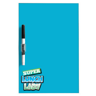 Lunch Lady - Super Lunch Lady Dry Erase Whiteboards