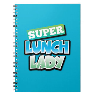Lunch Lady - Super Lunch Lady Spiral Note Book