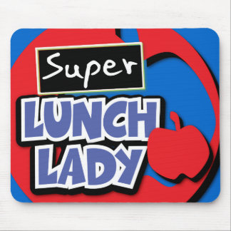Lunch Lady - Super Mouse Pad