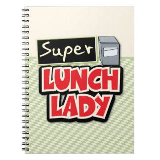 Lunch Lady - Super Spiral Note Books