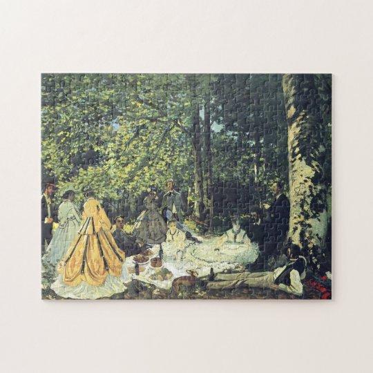Lunch on the Grass Monet Fine Art Jigsaw Puzzle