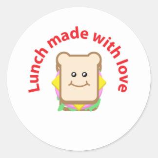 Lunch Sandwich Sticker