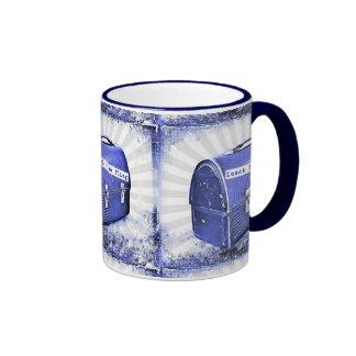 Lunch Time Fling Blues Ringer Coffee Mug