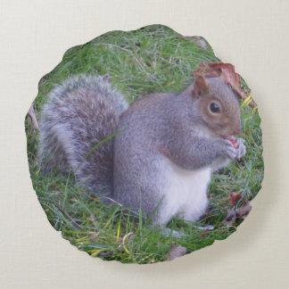 Lunch Time Round Pillow