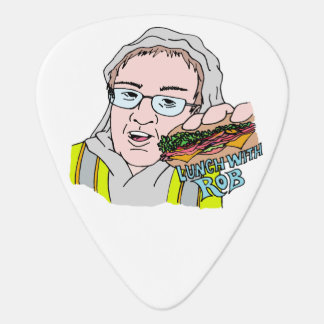 Lunch With Rob! Guitar Pick