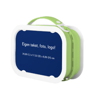 Lunchbox Blauw