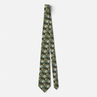 Luncheon by Claude Monet, Vintage Impressionism Tie