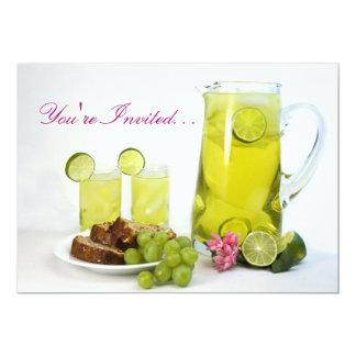 Luncheon Invitation - Beverages