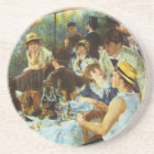 Luncheon of the Boating Party by Pierre Renoir Coaster