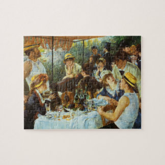 Luncheon of the Boating Party by Pierre Renoir Jigsaw Puzzle