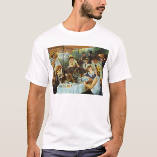 Luncheon of the Boating Party by Pierre Renoir T-Shirt