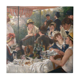 Luncheon of the Boating Party - Renoir Ceramic Tiles