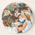 Luncheon of the Boating Party, Renoir Coaster