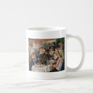 Luncheon of the Boating Party - Renoir Coffee Mug