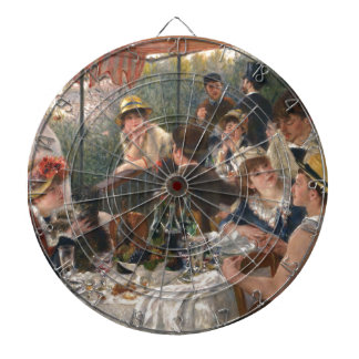 Luncheon of the Boating Party - Renoir Dartboards