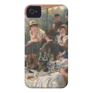 Luncheon of the Boating Party - Renoir iPhone 4 Cases