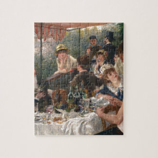Luncheon of the Boating Party - Renoir Jigsaw Puzzle