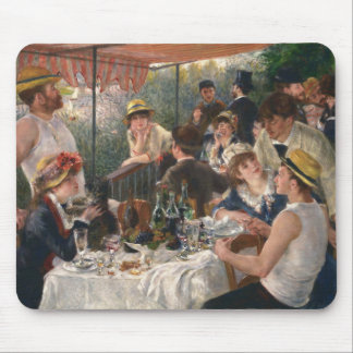 Luncheon of the Boating Party - Renoir Mouse Pad