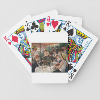 Luncheon of the Boating Party - Renoir Poker Deck