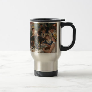 Luncheon of the Boating Party - Renoir Travel Mug