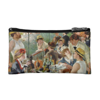 Luncheon of the Boating Party Vintage Renoir Cosmetic Bags