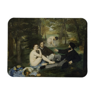 Luncheon on the Grass by Edouard Manet Rectangular Photo Magnet