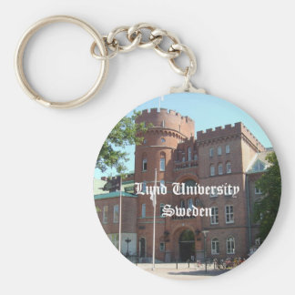 Lund University Castle Keychain