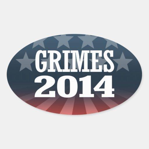 LUNDERGAN-GRIMES 2014 STICKERS