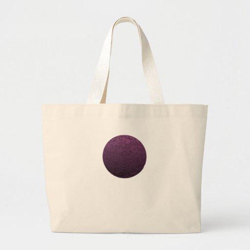 Lune pourpre sac en toile