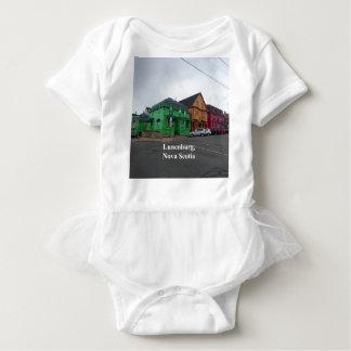 Lunenburg colors baby bodysuit