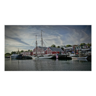 Lunenburg Harbour, NS fine art print