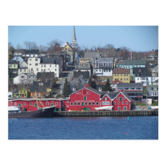 Lunenburg, Nova Scotia Postcard
