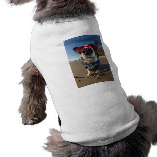 Lunettes d'amour t-shirt pour chien
