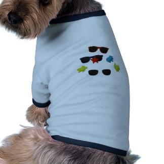 lunettes de soleil t-shirt pour chien