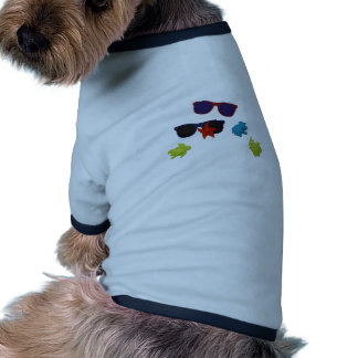 lunettes de soleil tee-shirt pour animal domestique