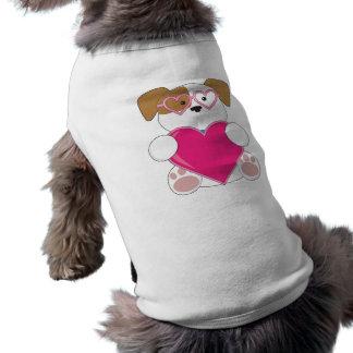 Lunettes de soleil d'amour de chiot manteau pour animal domestique