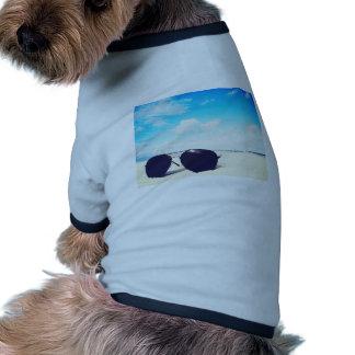 Lunettes de soleil de plage manteaux pour chien