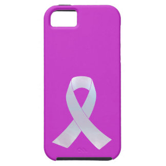 Lung Cancer Awareness Ribbon iPhone 5 Cover