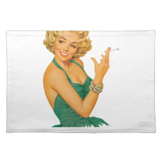 lung cancer girl placemat