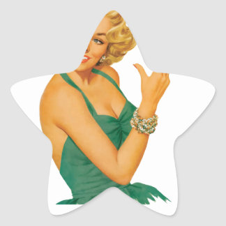 lung cancer girl star sticker