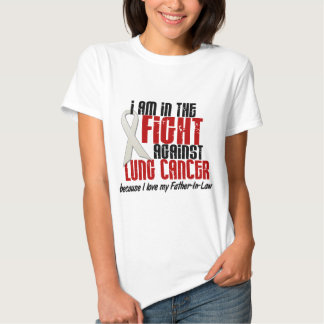 Lung Cancer IN THE FIGHT 1 Father-In-Law Shirt