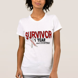 Lung Cancer Survivor 1 Year T-Shirt