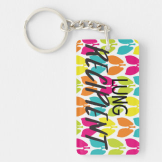 Lung Recipient Keychain