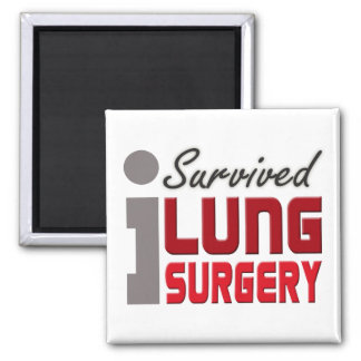 Lung Surgery Survivor Magnet