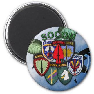 l'unité de commande d'opérations spéciales raccord magnets