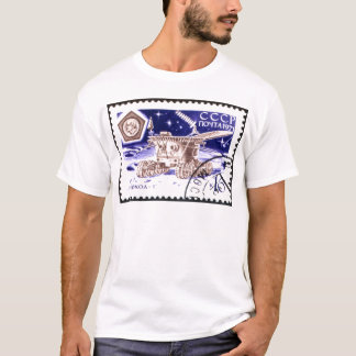 Lunokhod-1 Russian Space Robot T-Shirt