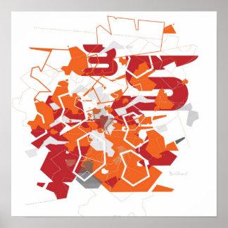 Lunokhod Abstract Print