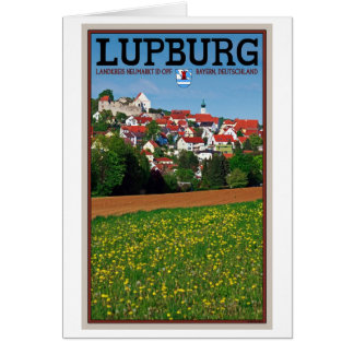Lupburg - Village View from Fields Card