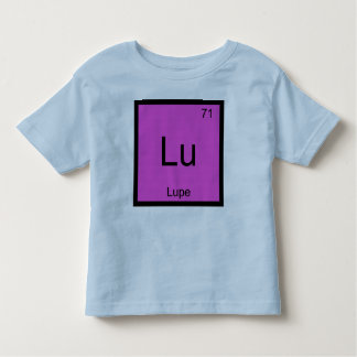 Lupe Name Chemistry Element Periodic Table Toddler T-shirt