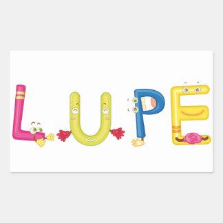Lupe Sticker